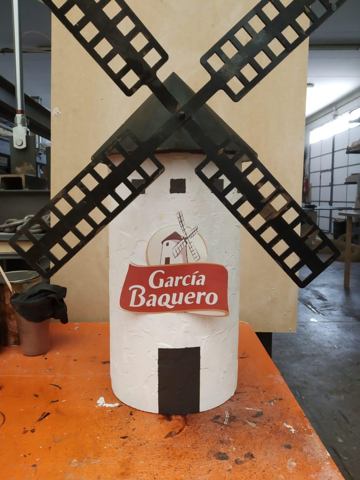 Molino en resina García Baquero