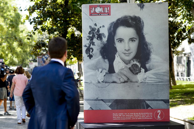 70 aniversario revista Hola en resina
